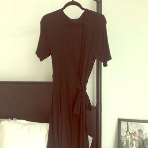 J. Crew knit wrap dress 🍾💋